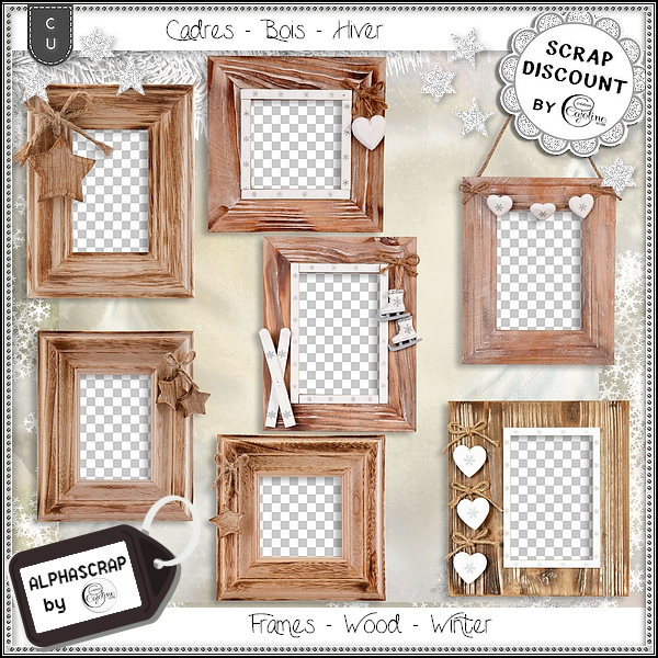 Frames - Wood - Winter 2