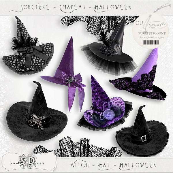 Witch - Hat - Halloween